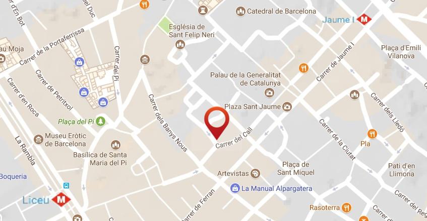 Ubicacion Hotel Call En Barcelona Hotel Call